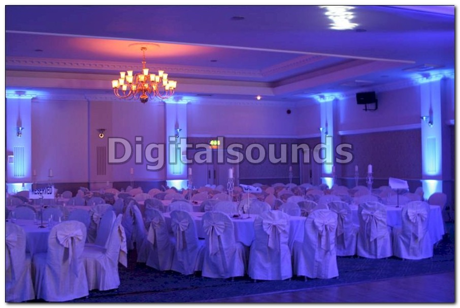 digitalsounds led uplighting hire